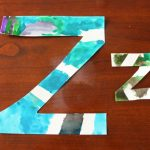 Letter Z Craft – Z is for Zebra