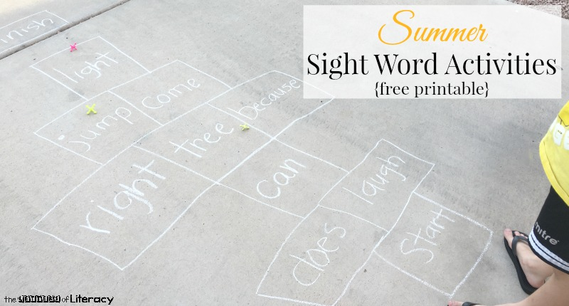 photograph regarding Printable Sight Word Activities named Summer months Sight Phrase Things to do, totally free printable record - The