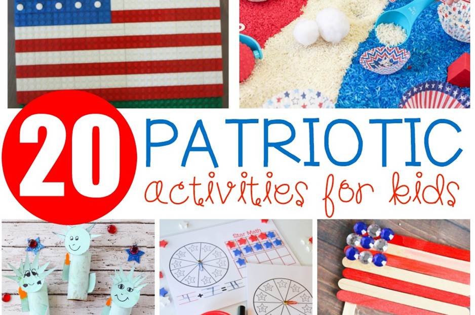 Awesome patriotic printables, crafts, and more for kids!