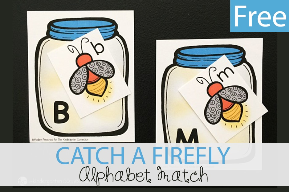 Catch a Firefly Alphabet Match Game