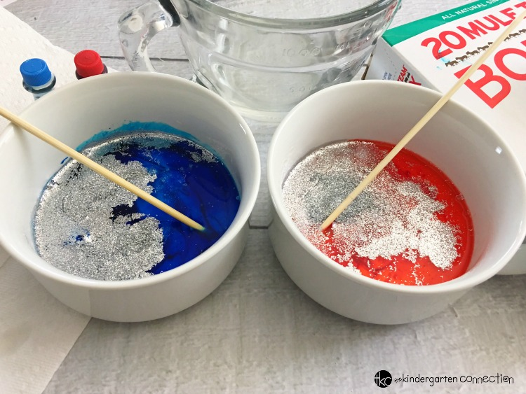 Who doesn't love a good slime recipe for kids? This slime is a great patriotic slime to make and play with for the 4th of July, Memorial Day, and more!
