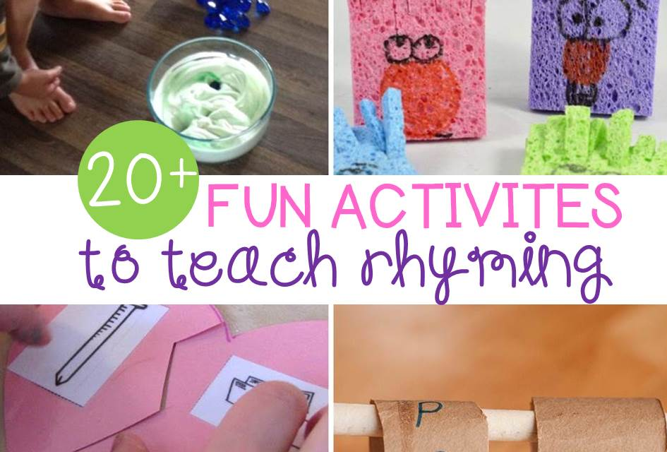 20+ Rhyming Activities for Kids