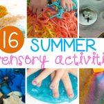 Summer Sensory Activities Kids Will Love
