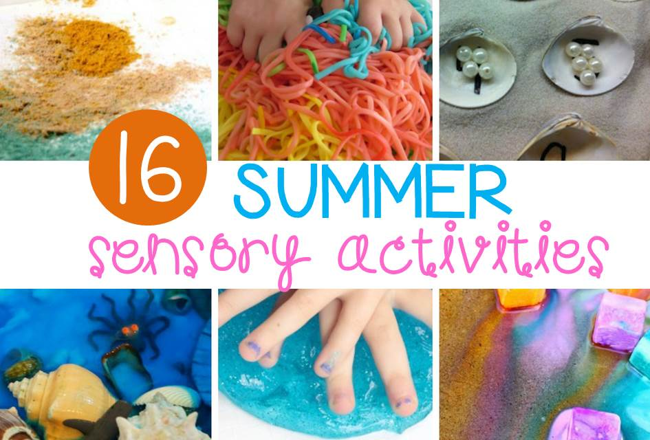 Awesome summer sensory activities for kids!