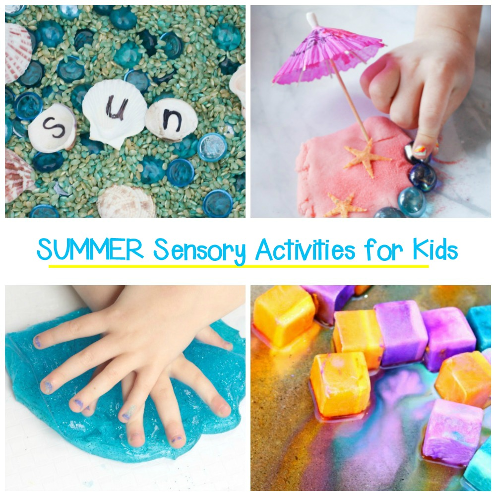 Get ready for hands-on, engaging fun this summer with these awesome summer sensory activities that kids will absolutely love!