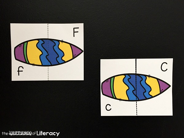These free surfboard themed alphabet puzzles are great for summer! Practice uppercase and lowercase letters with this fun letter matching game!