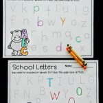 Back to School Alphabet Tracing Printables