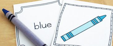 The Day the Crayons Came Home Color Word Game