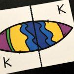 Surfboard Alphabet Puzzles