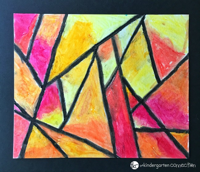 This easy oil pastel project for kids is a great way to introduce elements of color theory to young students! The results can be quite stunning, and each one is completely unique.