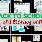Print and Play Back to School Activities and Centers