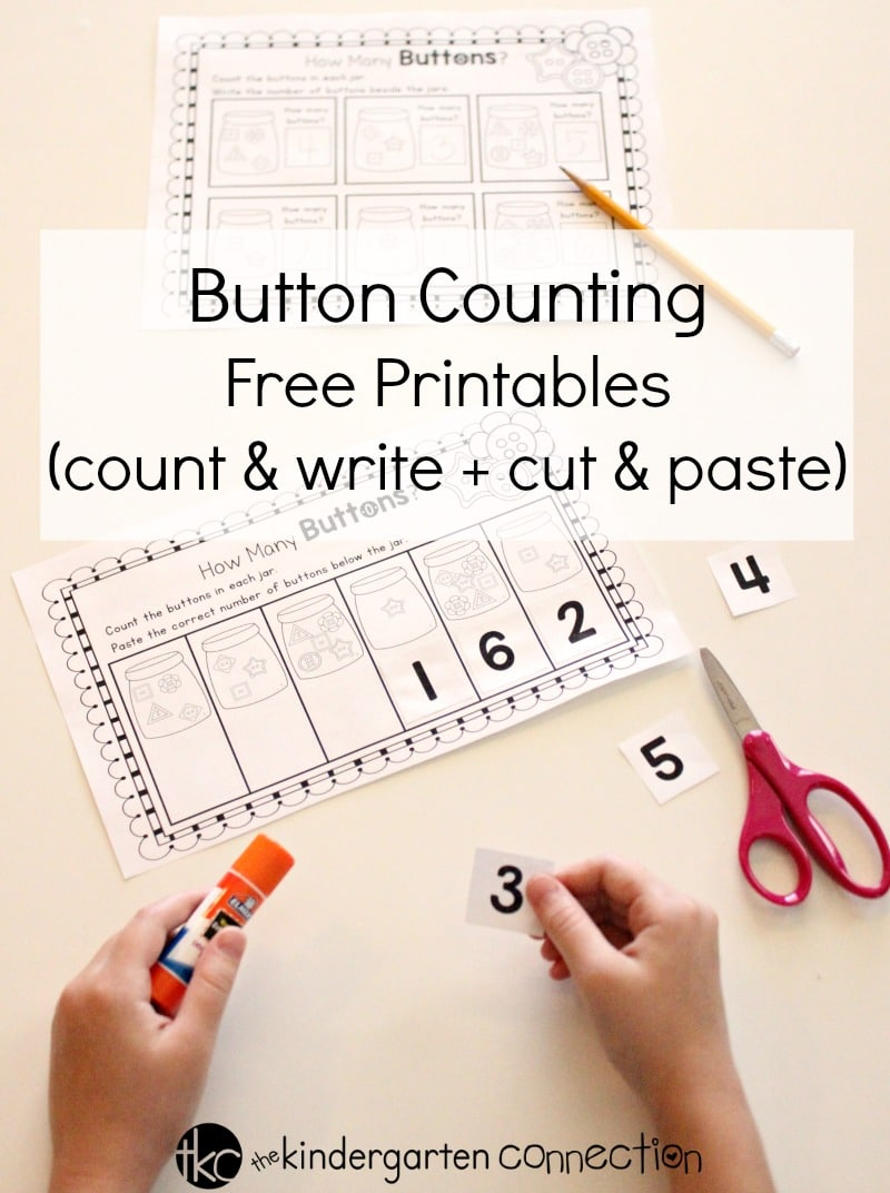 button counting free printables for prek