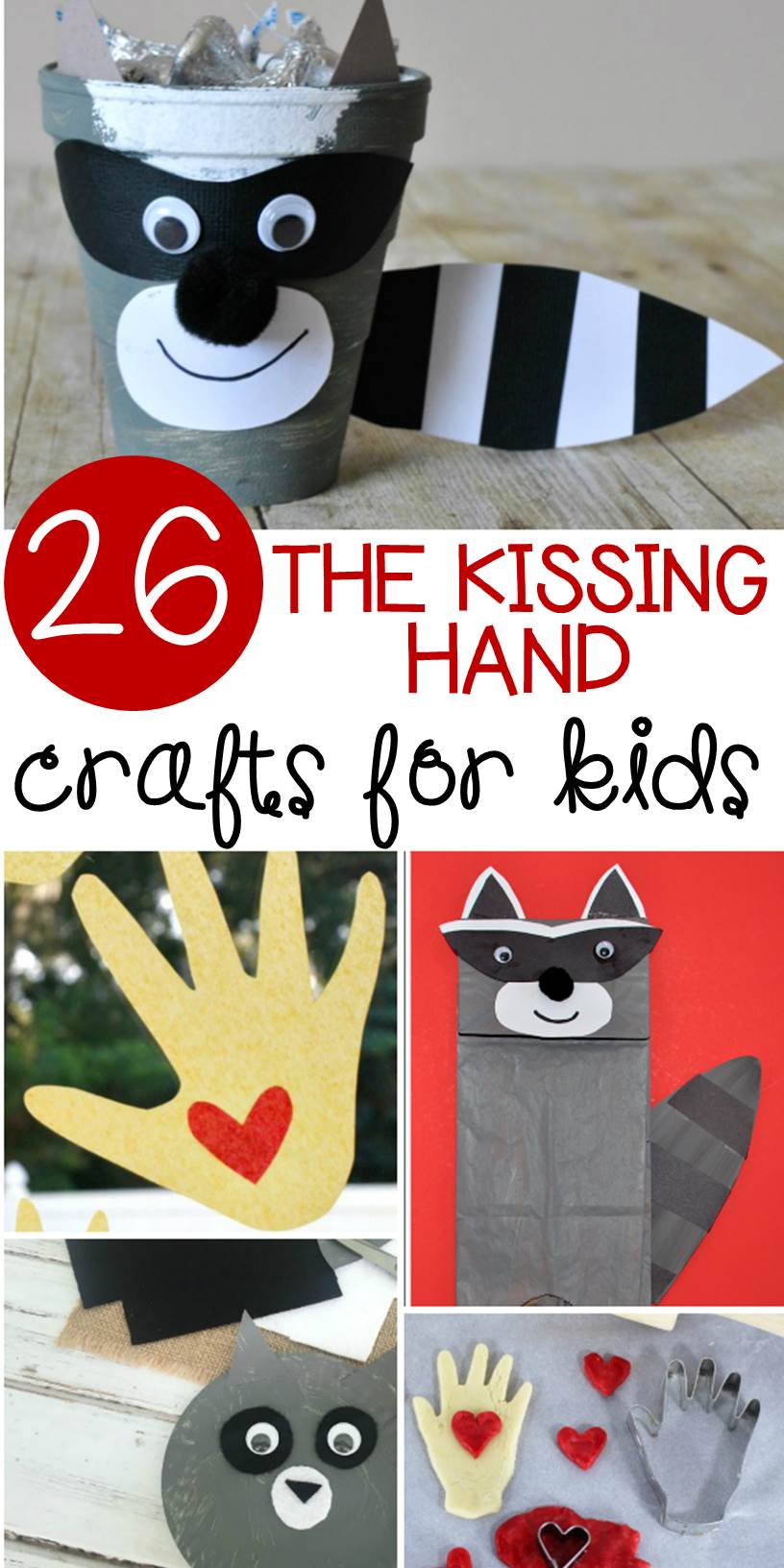 graphic relating to Kissing Hand Printable called The Kissing Hand Crafts That Are Best for Back again in direction of Higher education