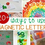 Magnetic Letter Activities