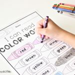 Color Words Free Printable