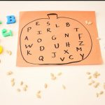 Easy Pumpkin Alphabet Fall Activity
