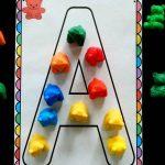 Counting Bear Fine Motor Alphabet Mats