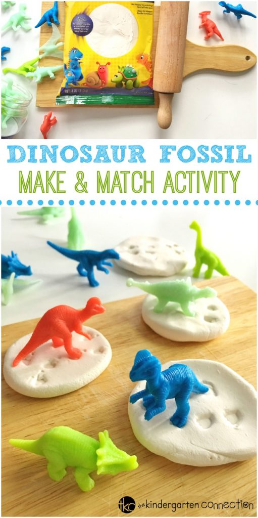 Dinosaur Fossil Make and Match Activity!