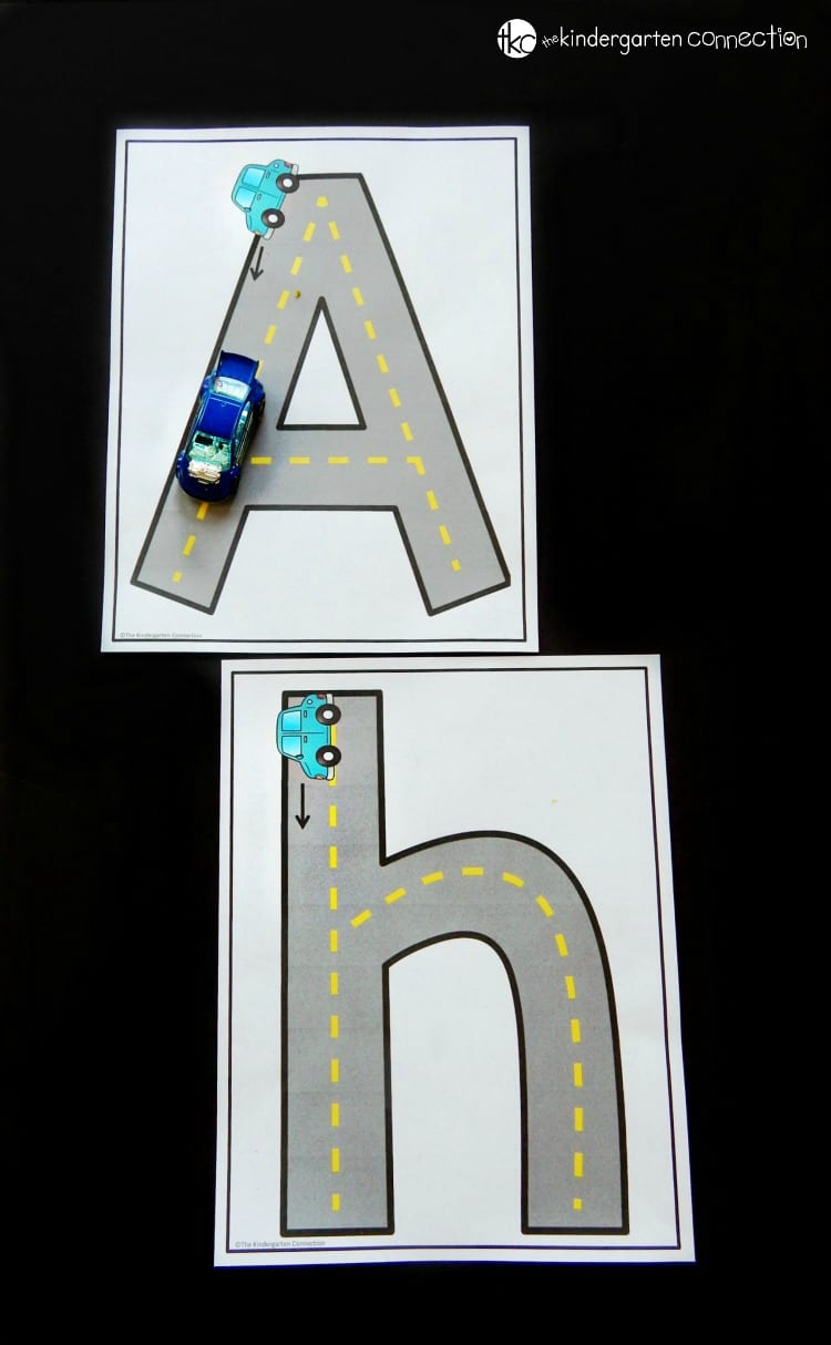 These print and play alphabet activities and centers are perfect for Pre-K and Kindergarten classrooms to explore letters!