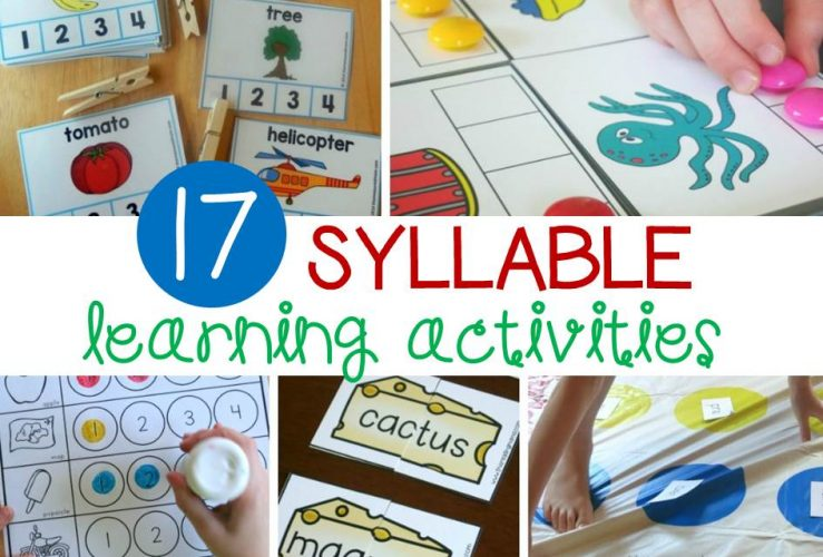 Fun Syllable Activities for Early Readers