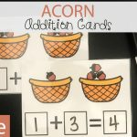 Acorn Fall Addition Cards