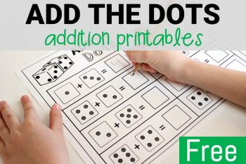 Add the Dots Addition Printables