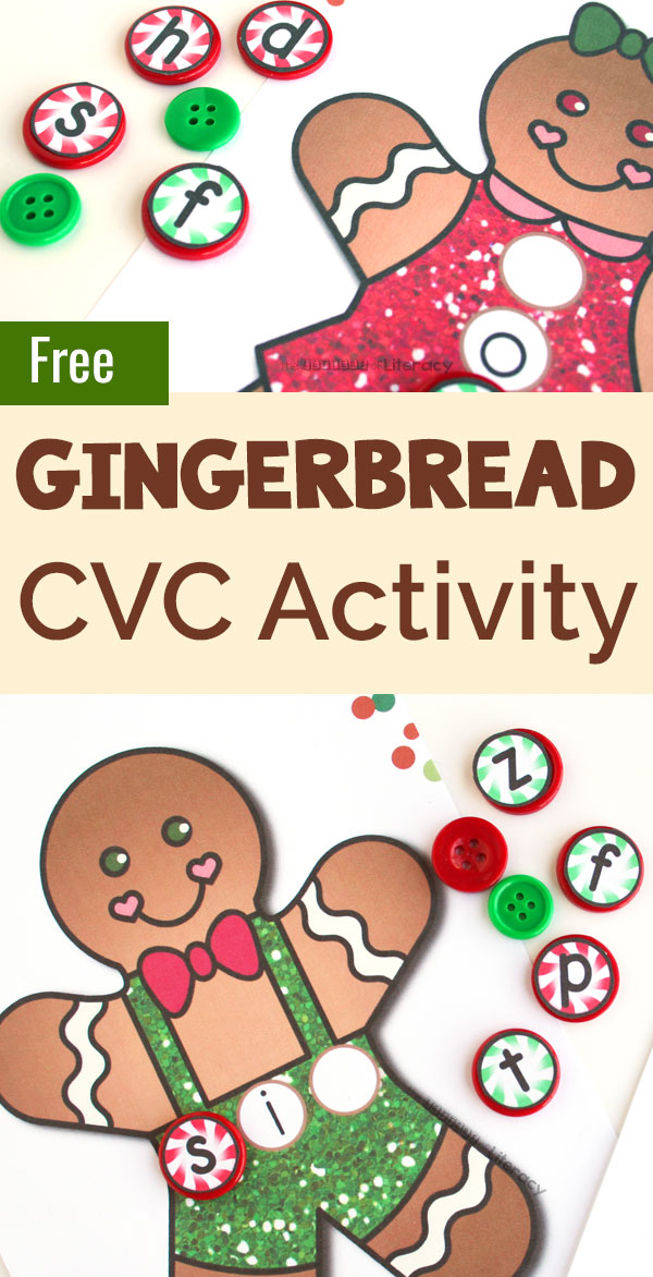 It's just a picture of Gingerbread Printable intended for writing