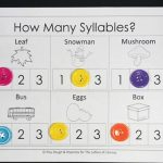 Syllable Counting Printables