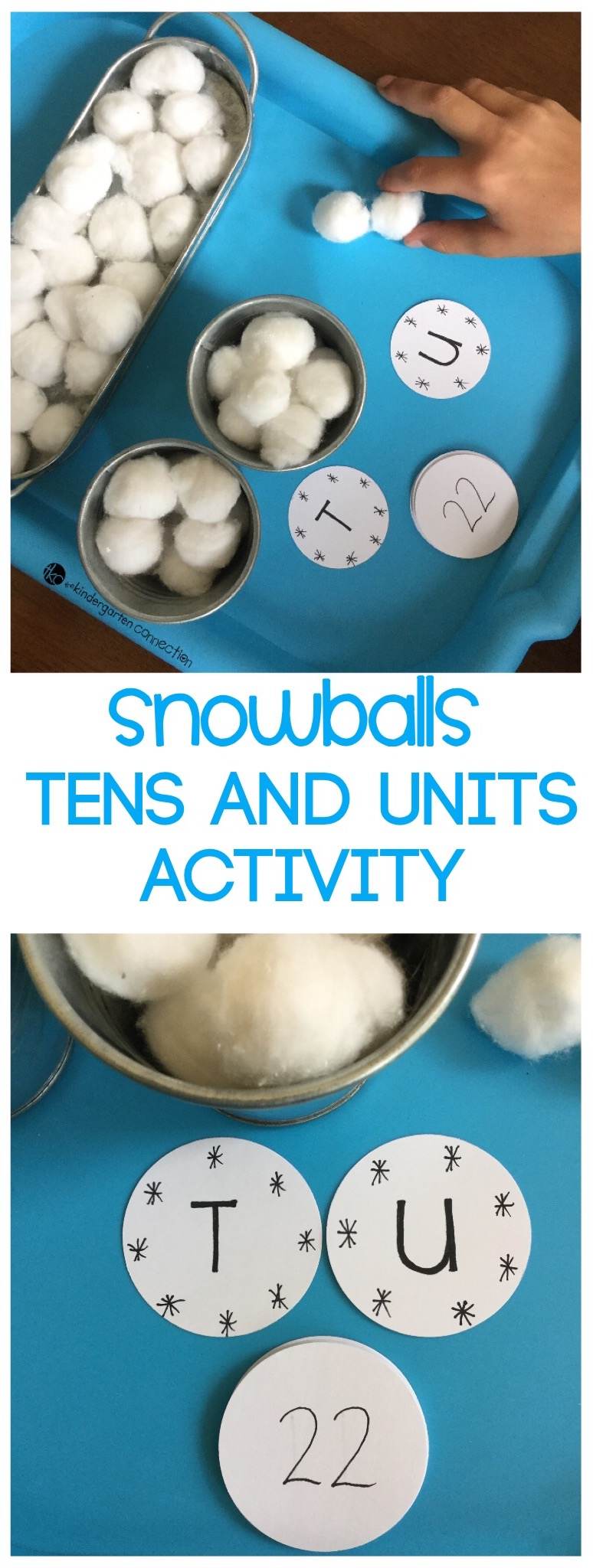 Tens and Ones Winter Place Value Activity