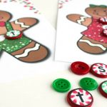 CVC Word Building Gingerbread Printable Literacy Center