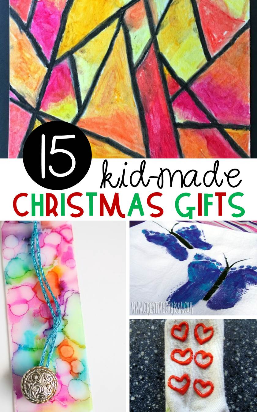 Kid-Made Christmas Gifts That You Can Make in the Classroom!