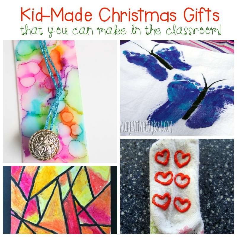Make these kid-made Christmas gifts with your class this year and your kids will have tons of fun making gifts for family and friends!