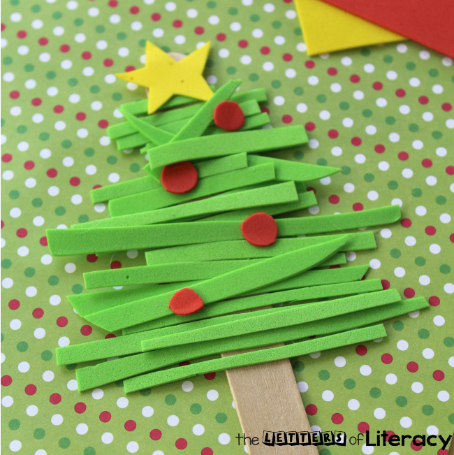 This Foam Christmas Tree Kids Ornament is easy and so much fun to create! This craft is suitable for all ages and will look adorable on your Christmas tree!