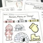 Printable Nouns Activities