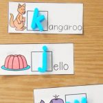 Alphabet Magnet Beginning Sounds Center