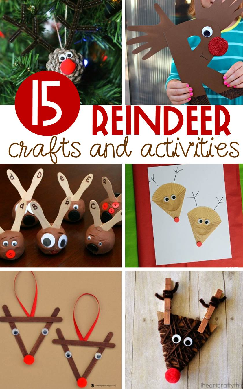 Take the magic of reindeer into the classroom with these fun reindeer crafts and reindeer activities for kids that are as educational as they are fun.