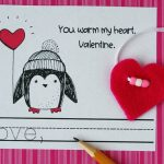 Penguin Printable Valentines and Non-Candy Gift
