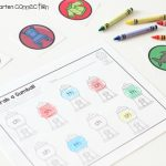 Digraph Matching Gumball Activity FREE Printable