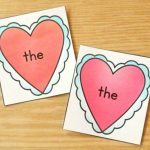 Heart Match Valentine's Day Sight Word Game