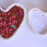 Heart-Themed Sight Word Search for a Valentine's Day Sensory Bin