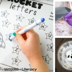 Space Alphabet Sensory Bottle
