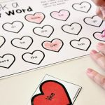 Editable Valentine's Day Sight Word Game