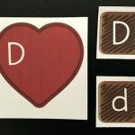 Box of Chocolates Valentine Alphabet Match