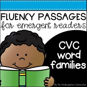 CVC word families cover