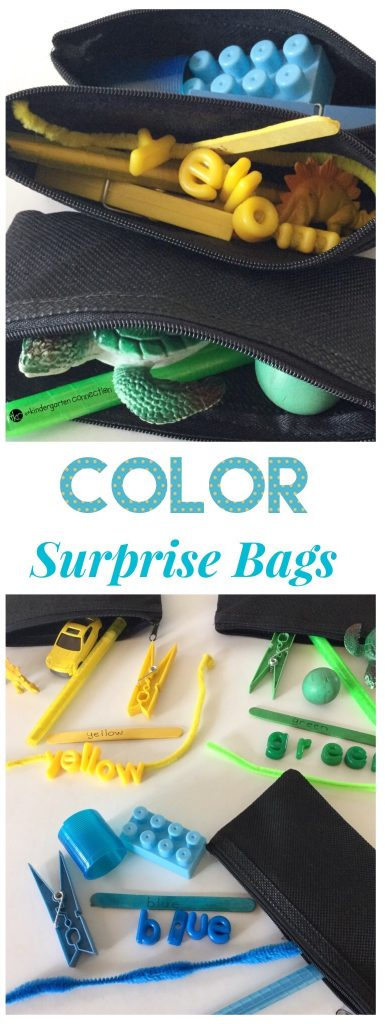 Find out how to create a variety of Color Surprise Bags with items you have on hand! Have fun with this hands-on activity for learning about colors!