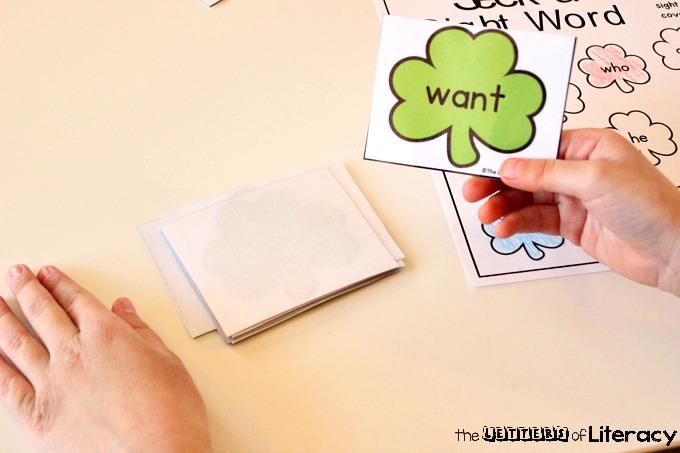 Free Editable St. Patrick's Day Sight Word Game