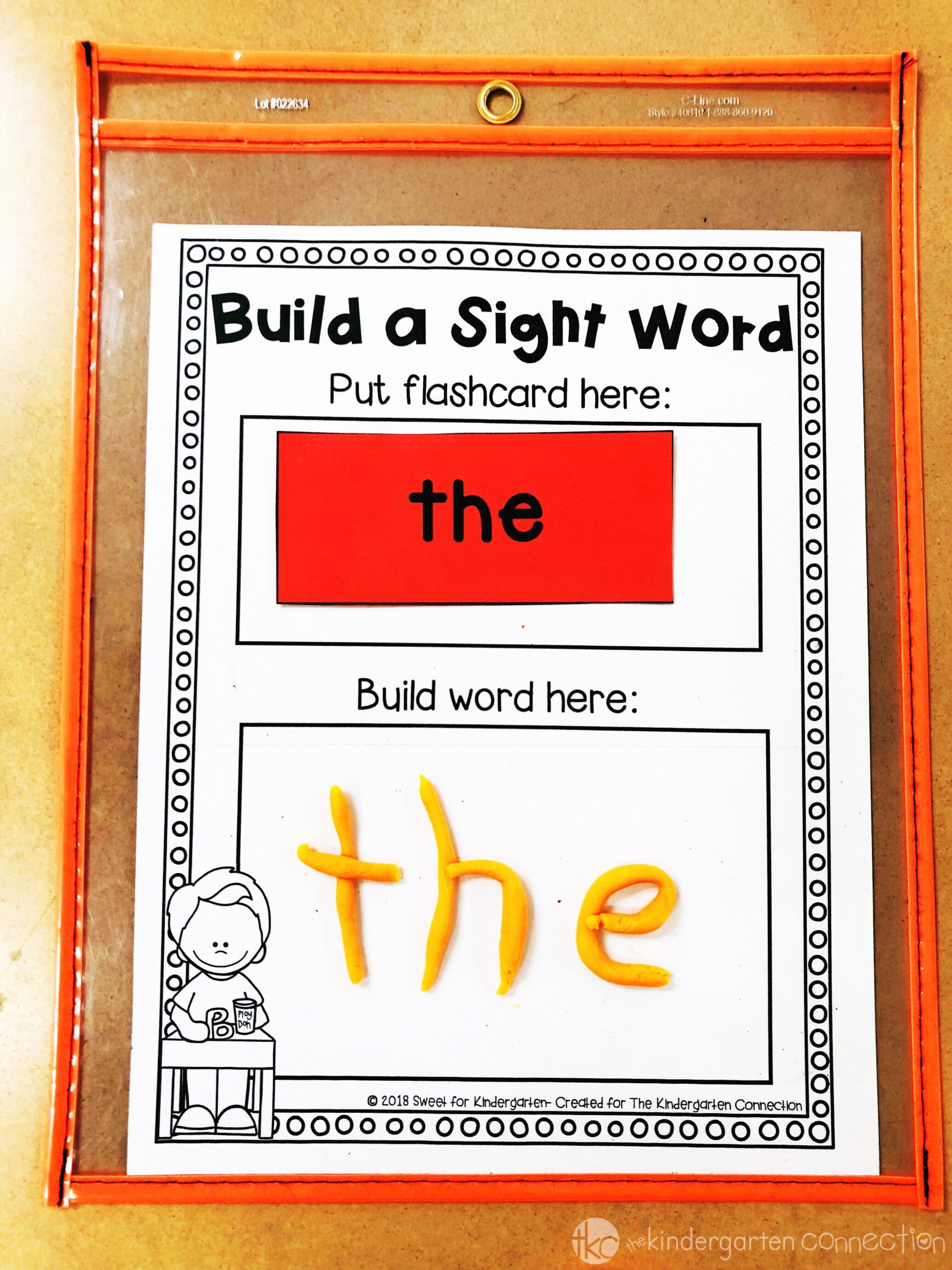 graphic regarding Printable Sight Word Activities named 3 Arms-Upon Sight Term Functions That Youngsters Will Get pleasure from!