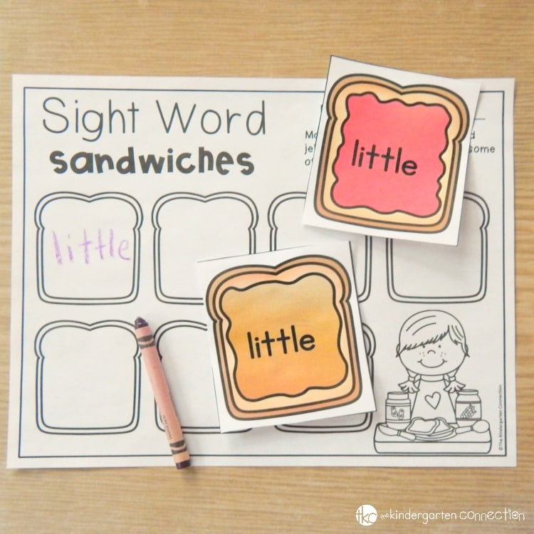 Editable sight word game - just print and play!