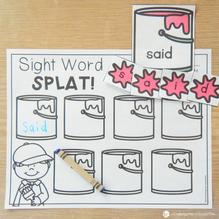 Editable Sight Word Games Centers on Single Letter Q Practice Sheets