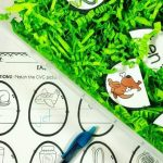 Easter Sensory Bins With Printables